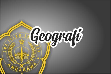 Geografi Kelas XII